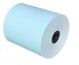 "3 1/8"" X 230' Blue Thermal Roll Paper (50 rolls)"