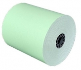 "3 1/8"" X 230' Green Thermal Roll Paper (50 rolls)"